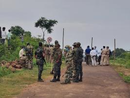 Odisha-Andhra tension Odisha deploys police in disputed Kotia panchayat