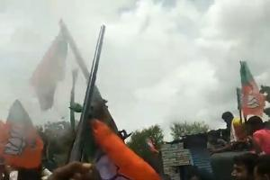 Three Karnataka cops suspended for celebratory firing to welcome Union Minister