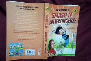 Khyrunnisas new Butterfingers novel debunks superstitions using wit and mystery