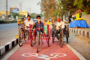 Warangal sets a track record How the city made it to Indias top 11 cycling cities