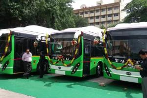 Electric buses likely to account for 8-10 of new bus sales in India by FY25