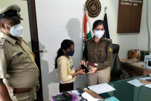 9-yr-old Kodagu girl elated as cops find her late mothers phone after 3 months
