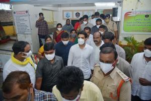 Guntur students murder triggers row Nara Lokesh other TDP leaders detained