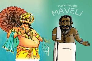 The false portrayal of Kerala king Mahabali like an Indian version of Santa Claus