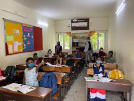 Many schools in Andhra Pradesh reopen with low turnout amid fears of third wave