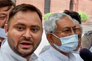 Nitish Kumar Owaisi Tejashwi and others urge Union govt for caste census