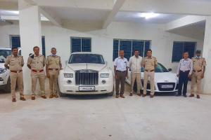 Rolls Royce 16 other luxury cars seized in Bengaluru for not having valid documents