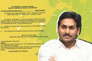 Andhra govt stops uploading GOs on website opposition calls it undemocratic