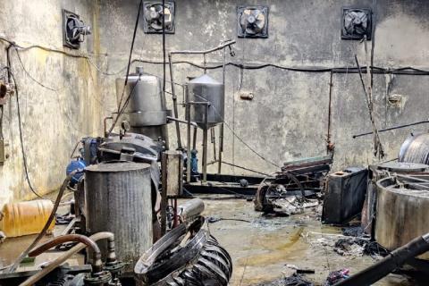 A boiler blast killed 4 in Bengaluru