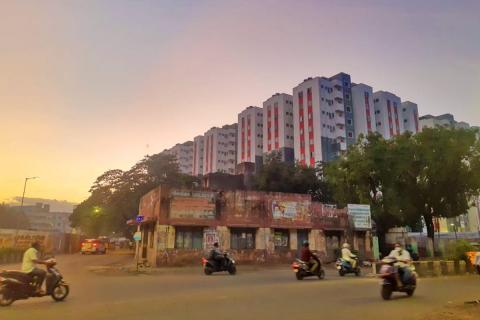 About 30 families from Arumbakkam allege the Tamil Nadu government officials overseeing the resettlement drive are refusing to allot them houses