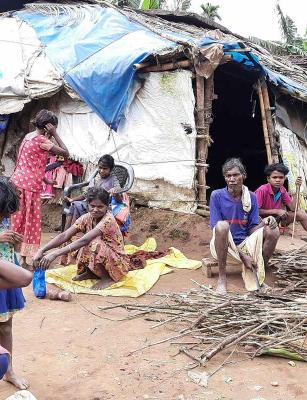 Leaking roofs, makeshift tents: A proper home still a dream for tribal people in Wayanad