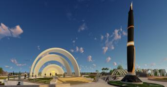 model of kalaignar memorial