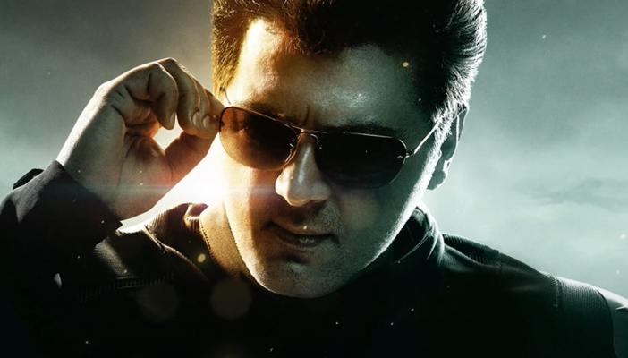 Actor Ajith in the motion poster from upcoming Tamil movie Valimai